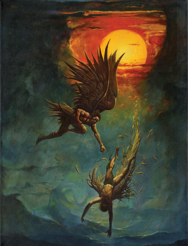 The Story in Paintings: Icarus and his downfall – The ...   Icarus Paintings Involving