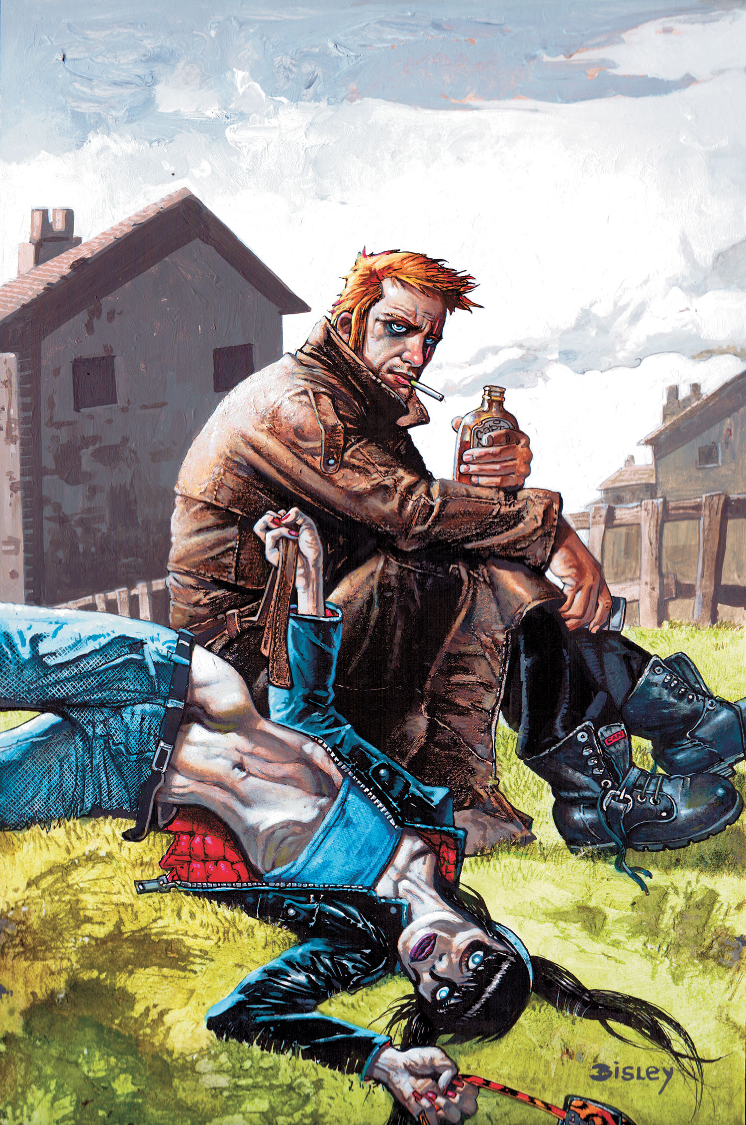 hellblazer 295 cover � the art of simon bisley