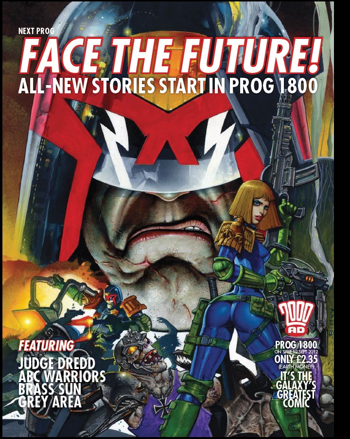 on The Cover of 2000ad